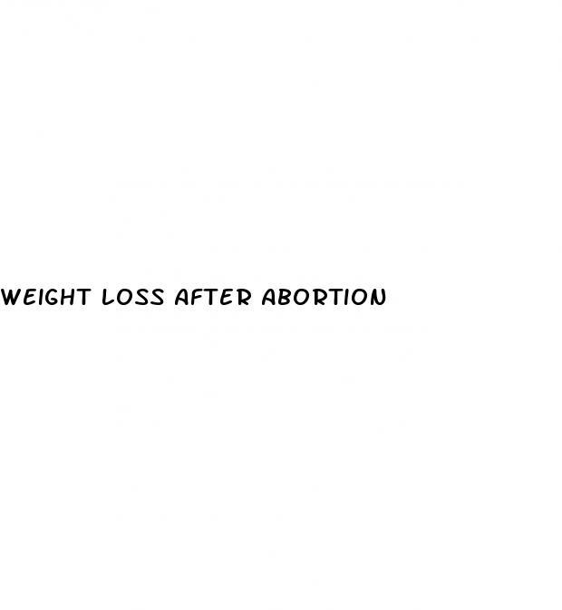 Will i lose weight after abortion