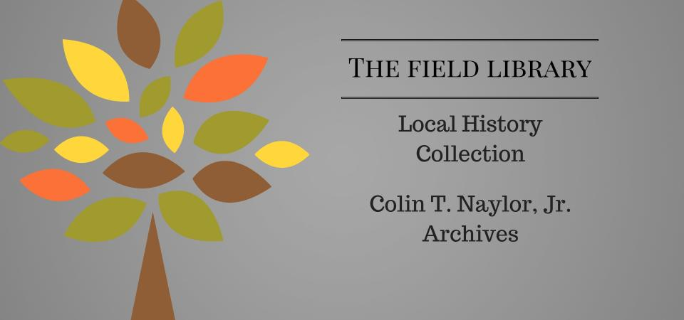 Local History Collecton